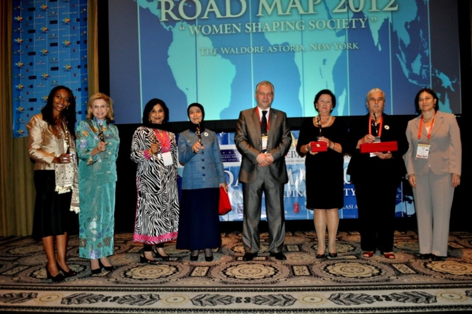 Road Map 2012 &quot;Women Shaping Society&quot; Award